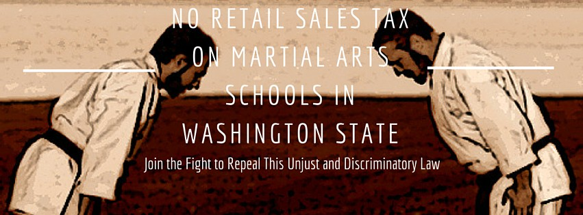NO RETAIL SALES TAX ON MARTIAL ARTS SCHOOLS (1)